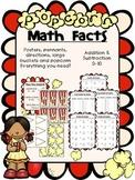 Math Facts Popcorn Reward System!