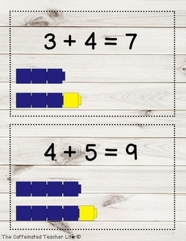 Math Facts Posters - Farmhouse