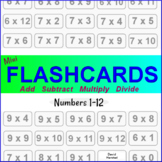 Math Facts Practice - Flashcards