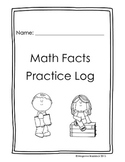 Math Facts Practice Log