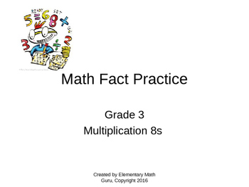Math Facts Practice Power Point