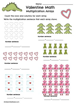 Math Facts Practice | Valentine's Day | Math Center