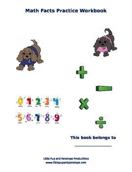 Math Facts Practice Workbook