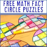 Math Facts Puzzle Math Center FREEBIE
