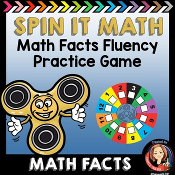 Math Facts Review Game -  Spin It