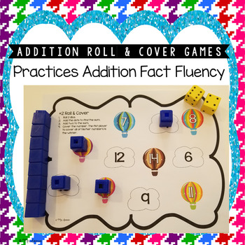 Addition Roll & Cover Games