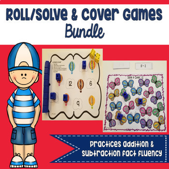 Roll/Solve & Cover Games Bundle