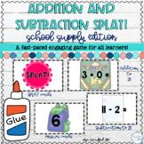 Math Facts SPLAT!