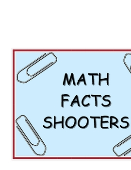 Math Facts Shooters Game