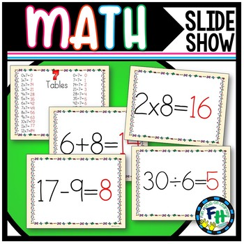Math Facts Slide Show