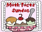 Math Facts Sundae {An Incentive for Learning Multiplication Facts}