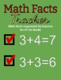 Math Facts Tracker