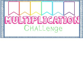 Math Facts Trackers! Multiplication, Division, Addition, and Subtraction