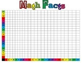Math Facts - Tracking Chart