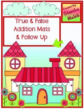 Math Facts/ True or False (S.Malek Freebie)