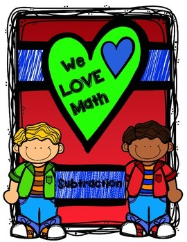 Math Facts - We LOVE Math - Subtraction Edition