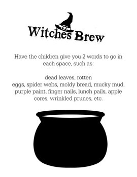 Math Facts- Witches Brew