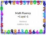Math Facts Workout Fluency