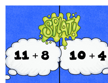 Math Facts ZAP GAME - Addition