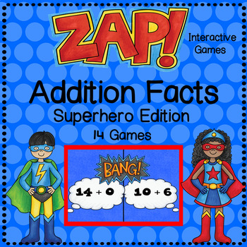 ZAP - Addition Facts Game