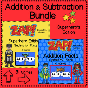 ZAP Addition & Subtraction Bundle