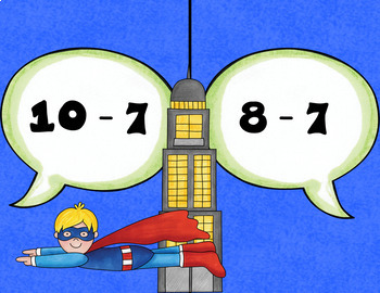 Math Facts ZAP Games - Subtraction Facts
