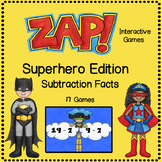 ZAP - Subtraction Facts Game