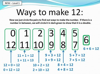 Math Facts - adding and subtracting 10-18 - Teaching With