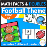 Math Fluency | Addition Facts and Doubles Math Centers | A