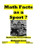 Math Facts as a Sport? - Moderate Level