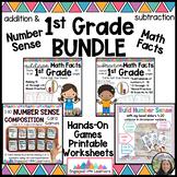 Math Facts for 1st Grade : Build Number Sense: Addition & Subtraction BUNDLE