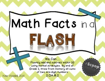 Basic Flash Cards {Rocket Math Flash Cards}