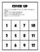 Math Facts to 20 Game Game Cover Up Math Game Math Facts to 20 Centers