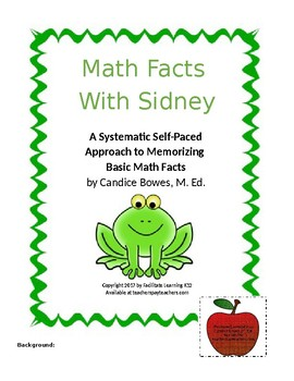 Math Facts with Sidney
