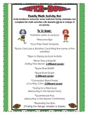 Math Family Involvement Activities: Perfect for Your Class or a School Event