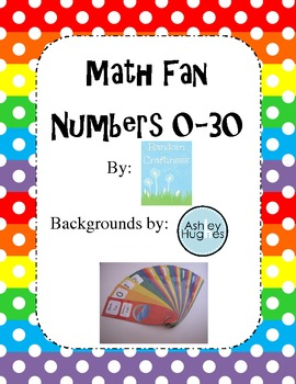 Math Fan Numbers 0-30 plus operations