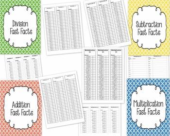 Math - Fast Facts Bundle