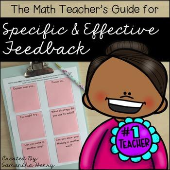Math Feedback Guide