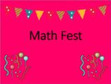 Math Fest Review Game (Based on Eureka Math) Fourth Grade
