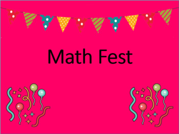 Math Fest Review Game (Based on Eureka Math) Fourth Grade