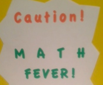 Math Fever! Introducing Integers in Real World Situation