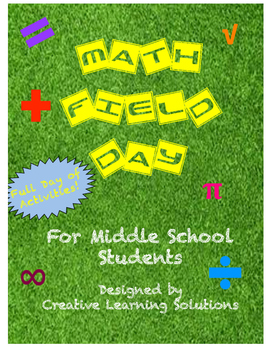 Math Field Day for Middle School