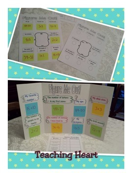 Math Figures -  Get To Know You Display and Center
