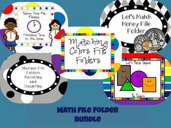 Math File Folder Bundle