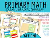 Math File Folder Games {primary}