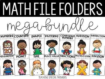 Math File Folders Mega-bundle