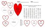 Math Financial Vocabulary - Bilingual - Spanish /English -