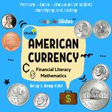Math - Financial Literacy - American Coins - U.S. (1¢ to 5