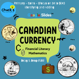 Math - Financial Literacy - Canadian Coins (1¢ to 50¢) on