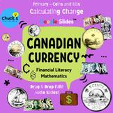 Math - Financial Literacy - Canadian Money - Calculating C